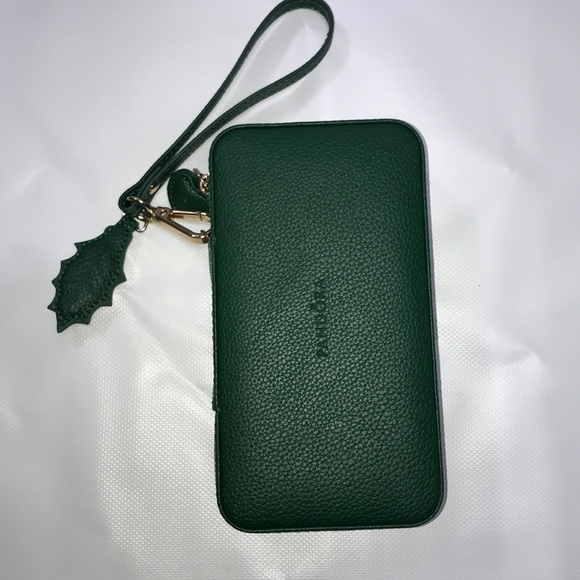 Pandora Green Leather Travel Jewelry Box